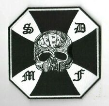 BLACK LABEL SOCIETY COLLECTIONS: BLS IRON CROSS BLS DOOM CREW S.D.M.F. PATCH