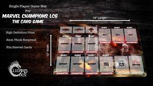 Marvel Champions LCG Custom Made Game Mat