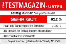 ✔ Grundig MC 9542 Profi-Haarschneider (Nass / Trocken) Haartrimmer ✔