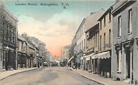 POSTCARD    HAMPSHIRE   BASINGSTOKE    London  Street