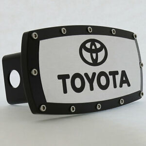 Toyota Hitch Cover (Black)