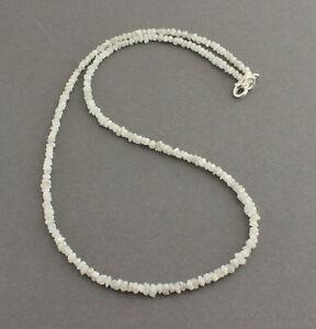 Rohdiamant Necklace Precious Stone White Diamond Natural Sparkling Noble 46cm