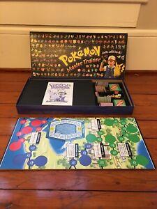 Pokemon Master Trainer Board Game 1999 Vintage Hasbro Rare 100% CompleteBlack