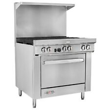"""Gusto - 36"""" Ng Range w/ 1 Oven & 6 Burners - Stainless Steel. Condition is New"""
