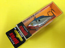 Rapala Rattlin' Rap RNR-7 CHB, Chrome Blue Color Lure, NIB.