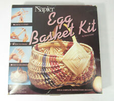 Vintage 1986 Napier Egg Basket Kit With Dye & Instructions