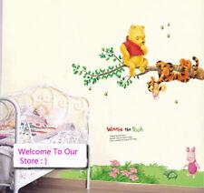 DIY Winnie The Pooh Wall Sticker kIDS Baby Room Decor Removable Vinyl decals