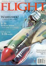 FLIGHT JOURNAL DEC 00 CONVAIR B-36 USAF / LAOS T-28 / NOORDUYN / ELECTRA /