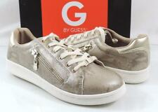 Women's Shoes G by Guess BRIONI 2 Fashion Lace Up Sneakers Gold Multi Size 9.5