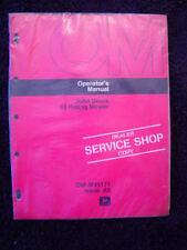 Genuine 1975 John Deere 66 Riding Lawn Mower Operators Manual Mint Sealed!