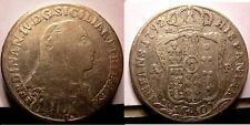 Naples Ferdinand IV 1/2 Plaque 1792 MB Sig Periz.ta