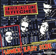 LOWER EAST SIDE STITCHES - LOWER EAST SIDE - 14 TRACK MUSIC CD - LIKE NEW - F049