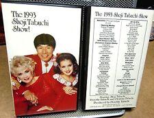 SHOJI TABUCHI Show Branson violin VHS Bob Wils set 1993 jambalaya polkas Mozart
