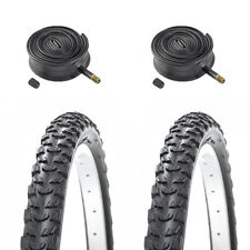 (Pair of) 24 X 1.95 (53-507) Kids / Childrens Bike Tyres & Tubes for MTB