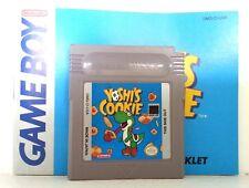 Yoshi's Cookie w/ Manual (Nintendo Game Boy) GBC, GBA, GBA SP