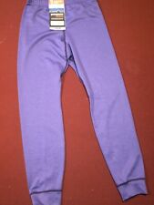 Patagonia Capilene 3 Midweight Bottoms Base Layer Pants Kids L Purple New!