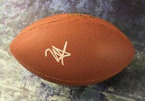 GFA Minnesota Vikings RC Quarterback KELLEN MOND Signed NFL Football K2 COA