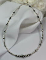 "Sterling Silver Navajo Pearl Choker or Necklace 14-16"" 16-18"" 18-20"""