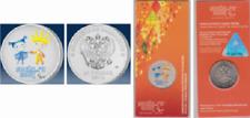 25 Rubel Russland Gedenkprägung Sotschi 2014 - Maskottchen Paralympics - FARBE