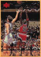 1998 Upper Deck MJ Timeline Michael Jordan 1st. Half Chicago Bulls #19..