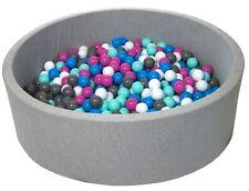 Piscina infantil para niños de bolas pelotas 600 piezas, diámetro 125cm