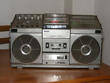 PHILIPS D8714 SPATIAL STEREO Transistorradio Ghettoblaster Boombox
