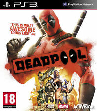 * PLAYSTATION 3 NEW SEALED Game * DEADPOOL * PS3