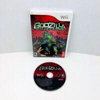 Godzilla Unleashed Nintendo Wii Video Game No Manual