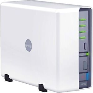Synology DS210j NAS DSM 5.2-5967 mit 2x 3TB WD RED im RAID 1 1GB LAN 128MB RAM