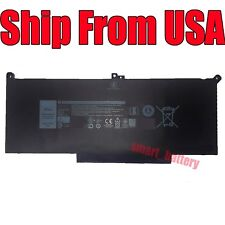 New listing F3Ygt Battery for Dell Latitude 12 7000 7280 7480 Dm6Wc 2X39G 0Dm3Wc Dm3Wc 7.6V
