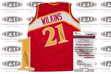 Dominique Wilkins Signed Custom Pro Style Jersey JSA Witnessed