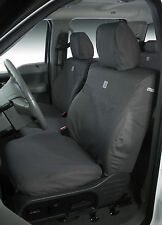 Carhartt GRAY Custom Seat Cover: 15- 16 Tahoe, Suburban, Yukon front buckets