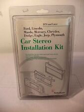 *NEW* Car Stereo In-Dash Installation Kit 1974 and Later American cars #12-1388