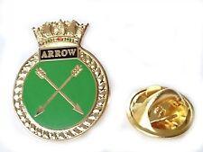 HMS Arrow Royal Navy Lapel Badge