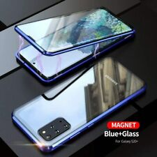 For Samsung Galaxy Note 20 S20 S10 S9 S8 - 360° Magnetic Double-Sided Glass Case