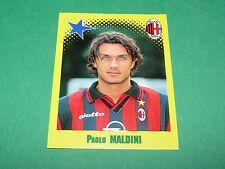 N°442 PAOLO MALDINI MILAN AC PANINI FOOT 98 FOOTBALL 1997-1998
