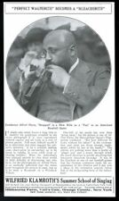 1913 Alfred Hertz Metropolitan Opera conductor photo at baseball game article