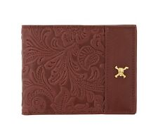 ST Dupont Pirates of the Caribbean Special Edition Vintage Brown Leather Wallet