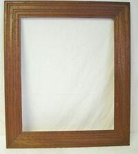 "Antique 3"" Wide Oak Picture Frame Fits 22x18 Rustic Victorian Era Wooden"