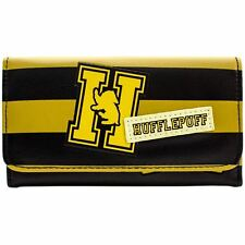 Official Harry Potter Hufflepuff House Logo Yellow Striped Purse *SECOND*