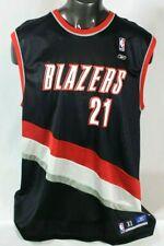 Ruben Patterson Portland Trailblazers Vintage NBA Authentic Jersey Size XL Black