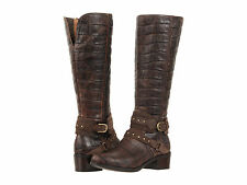 Ugg Australia Esplanade Croco Leather Womans Boots Brown size 5  NEW