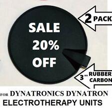Rubber Carbon Multi-Use Electrode for Dynatronics Dynatron Plus & Solaris Series
