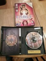 Fable: The Lost Chapters (PC, 2005) Complete w/Slip Cover and Game manual!