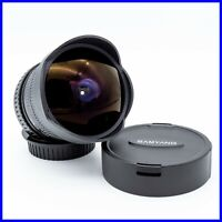 SAMYANG 8mm f3.5 FISH EYE canon eos mirrorless sony olympus fujifilm panasonic