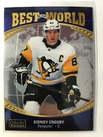 2019-20 Sidney Crosby Best in The World OPC O-PEE-CHEE Platinum