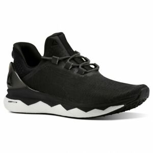 Reebok Floatride Run Smooth Size 7 Black RRP £100 Brand New CN4646