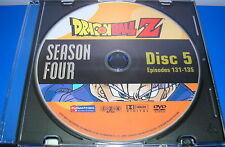 DRAGONBALL Z FOURTH SEASON 4 DISC 5 ONLY REPLACEMENT DISC