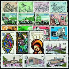 Berlin 1969-1987 Blockeinzelwerte postfrisch **