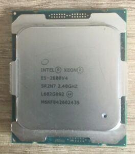 CPU Intel xeon E5-2680v4 14 core 28 thread 2.4 2.4-3.3ghz 35mb sr2n7 sk 2011-v3